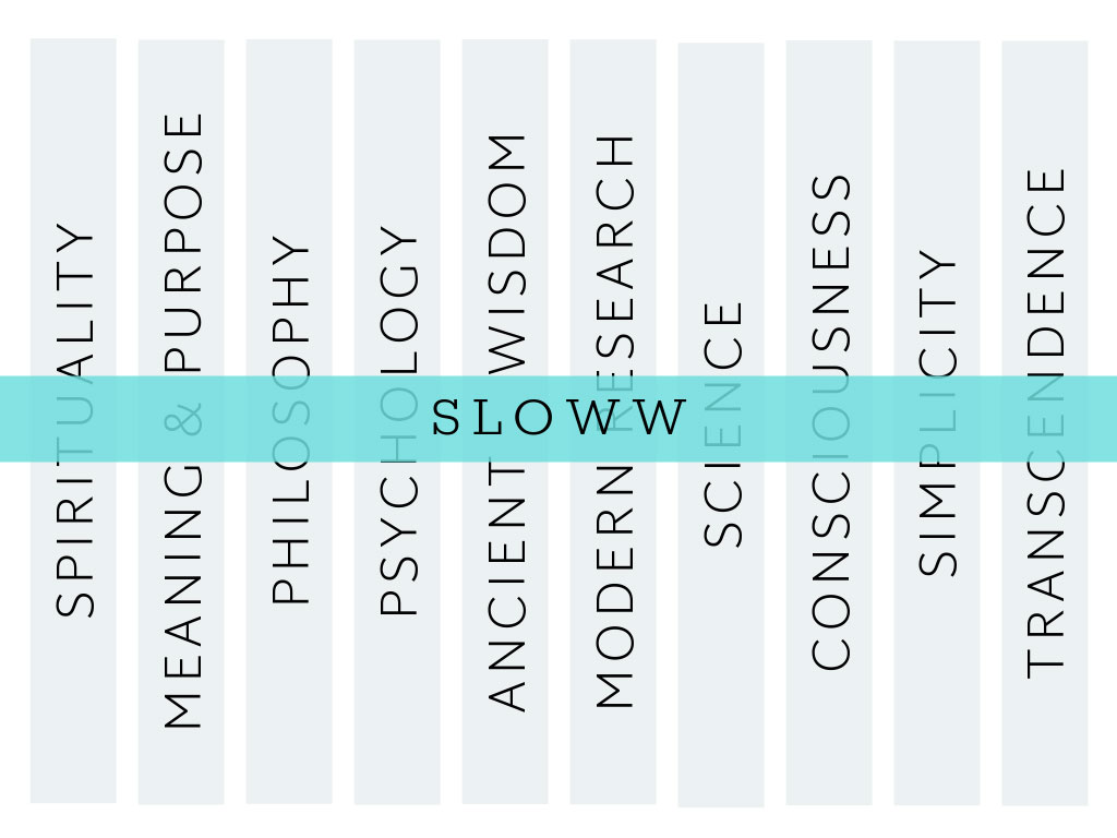 Sloww Synthesis Subject Areas