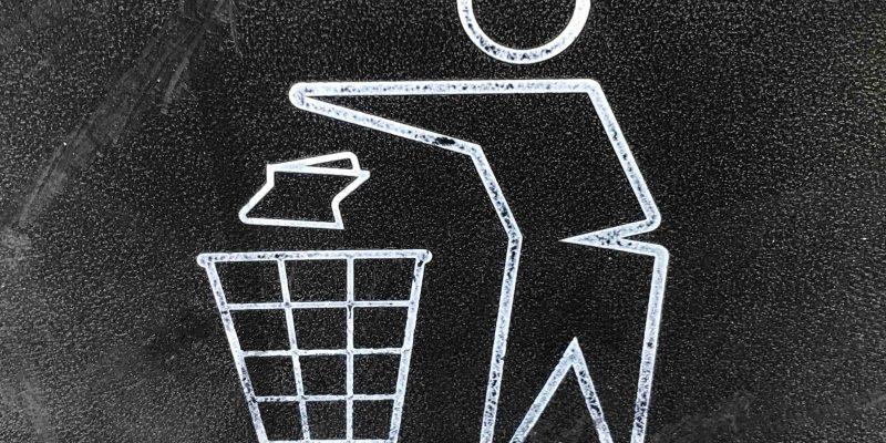 Sloww Waste Paper Basket
