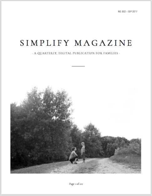 Sloww Simplify Magazine Cover 002