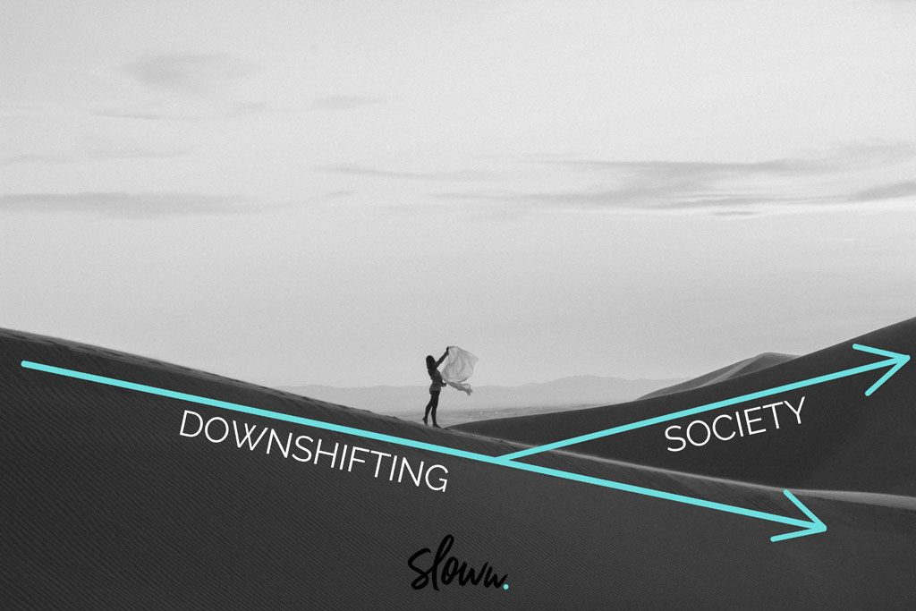 Sloww Downshifting Slow Living vs Society