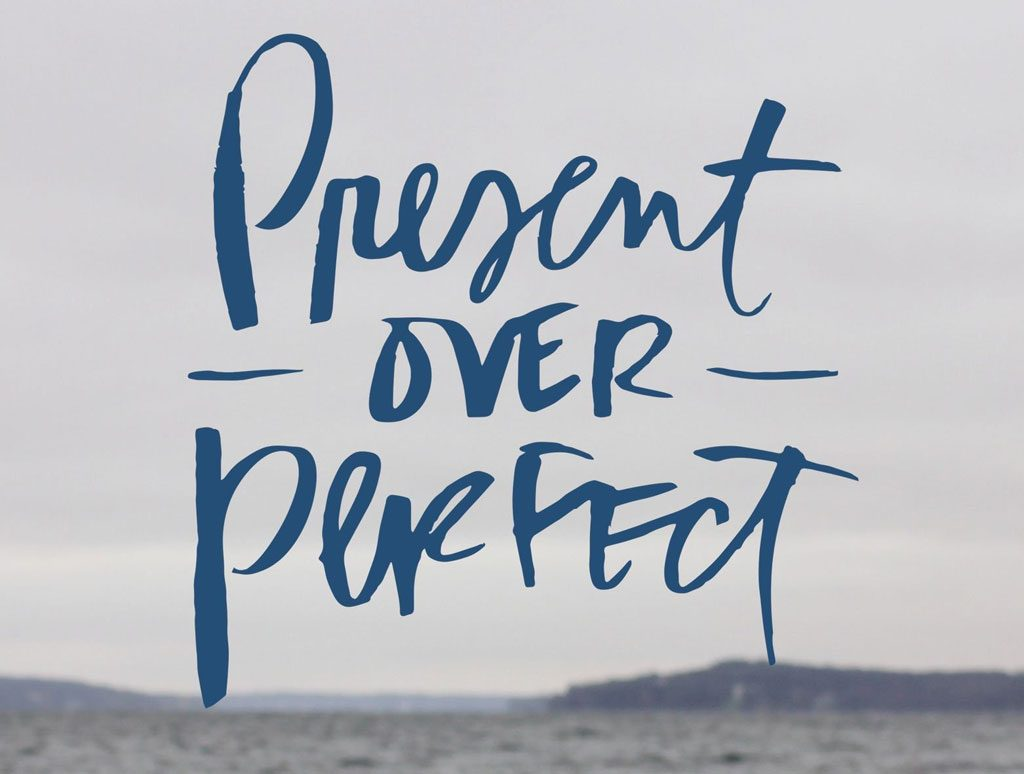 Sloww Present Over Perfect Book Shauna Niequist