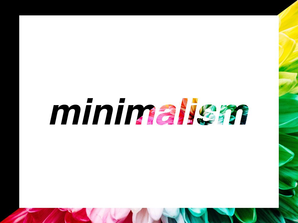 Minimalism in Color: Minimalist Aesthetic vs Minimalist Lifestyle