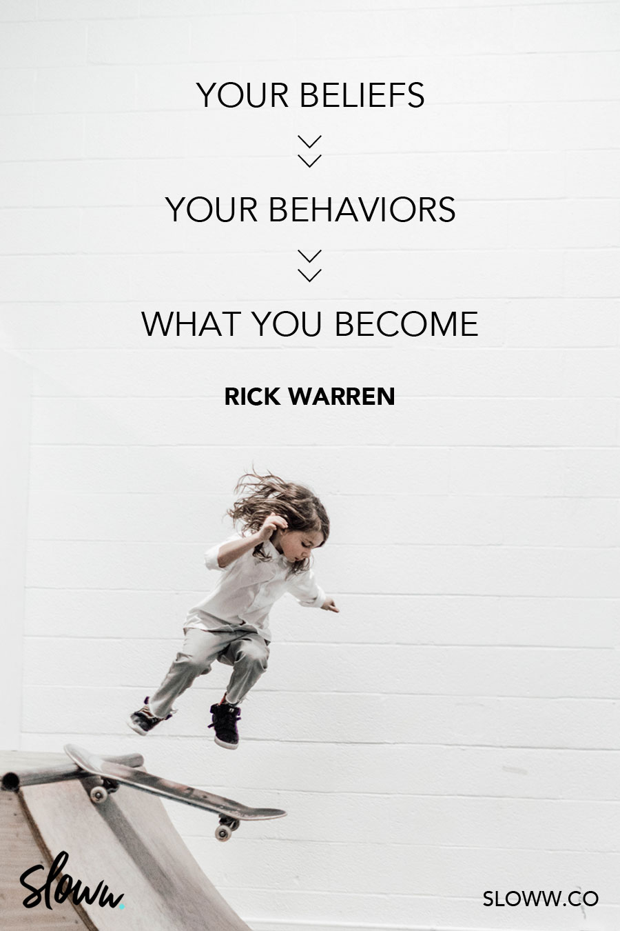 Sloww Purpose Driven Life Rick Warren Quote