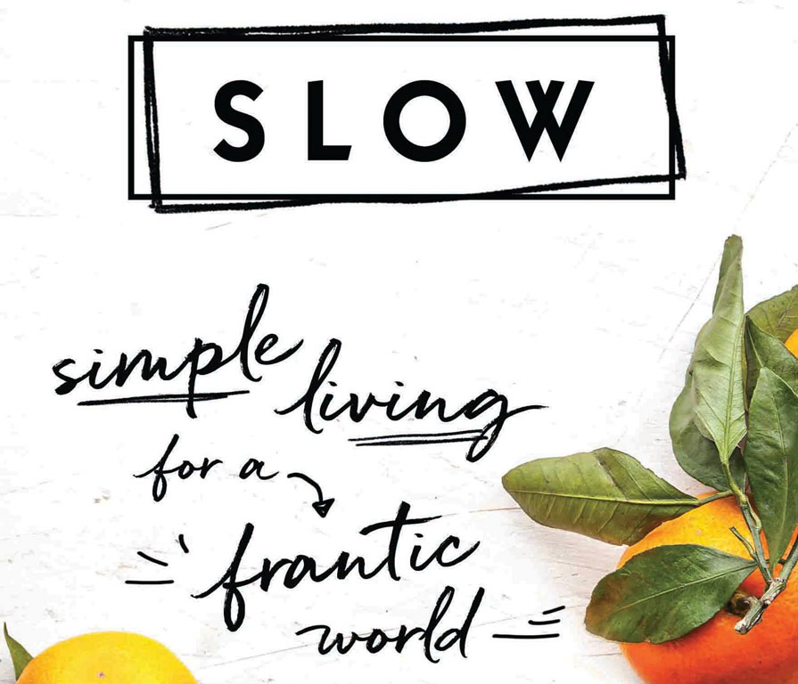 Sloww Slow Book Brooke McAlary