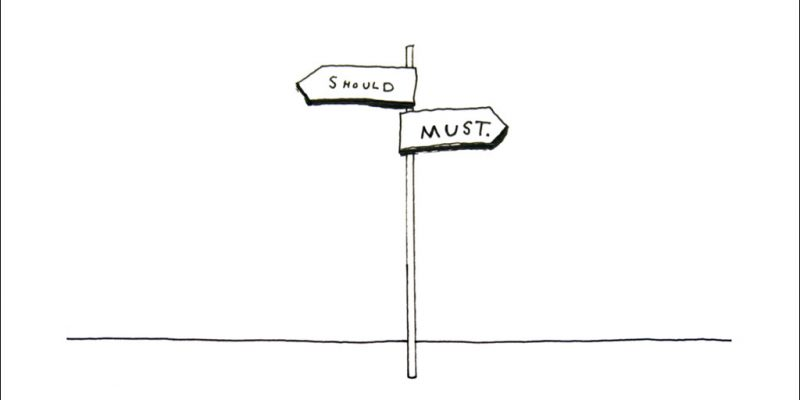 Sloww Crossroads of Should and Must