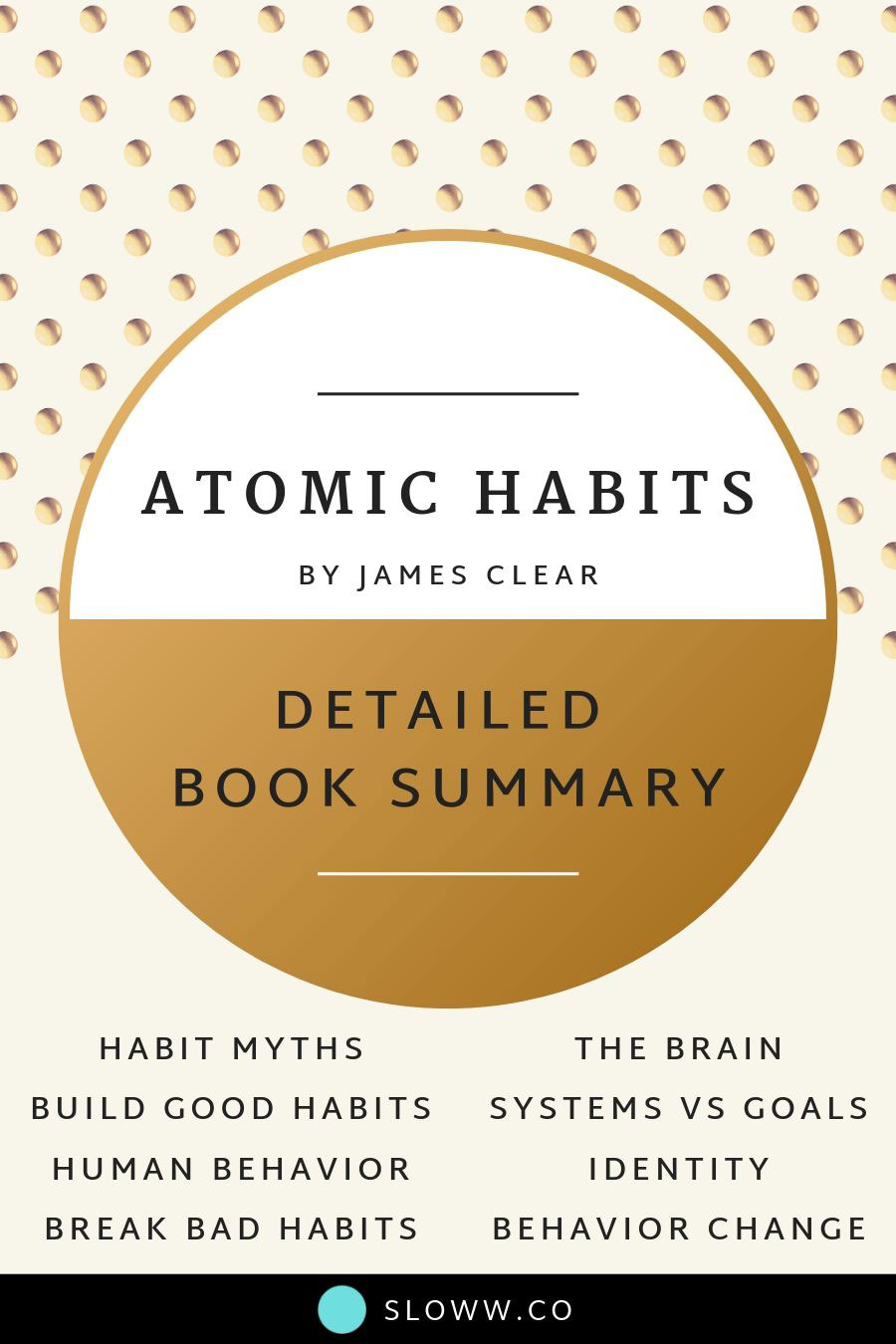 Sloww James Clear Atomic Habits Summary