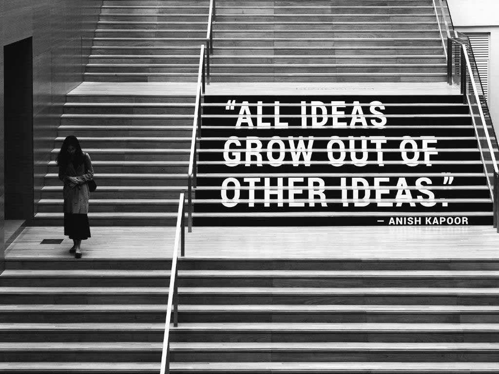 Sloww All Ideas Grow Quote
