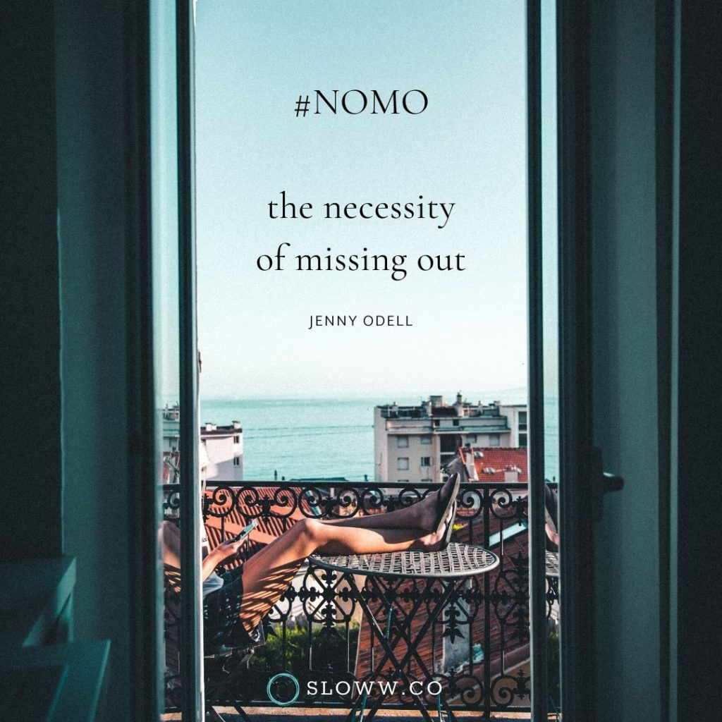 NOMO Quote Jenny Odell