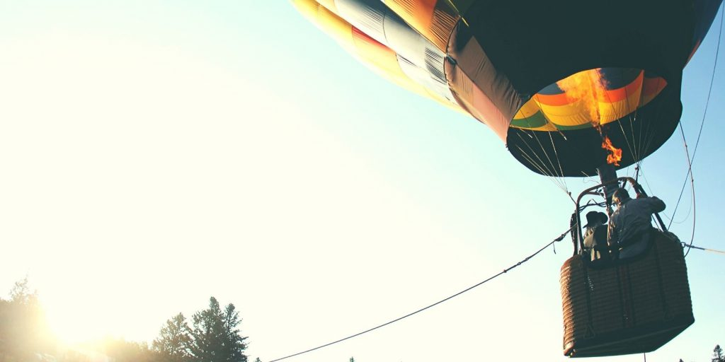 Sloww Michael Singer Surrender Hot Air Balloon Metaphor