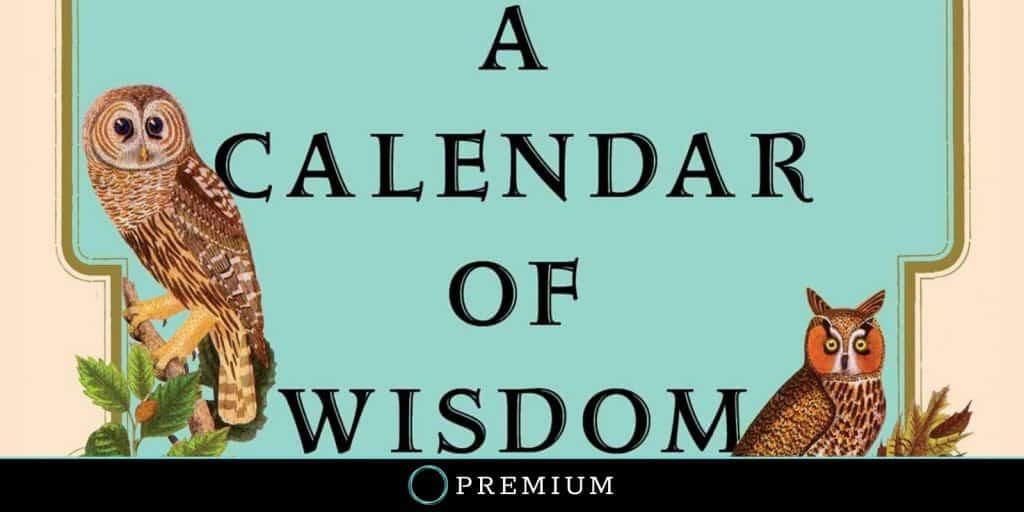 Sloww A Calendar of Wisdom by Leo Tolstoy (Premium)