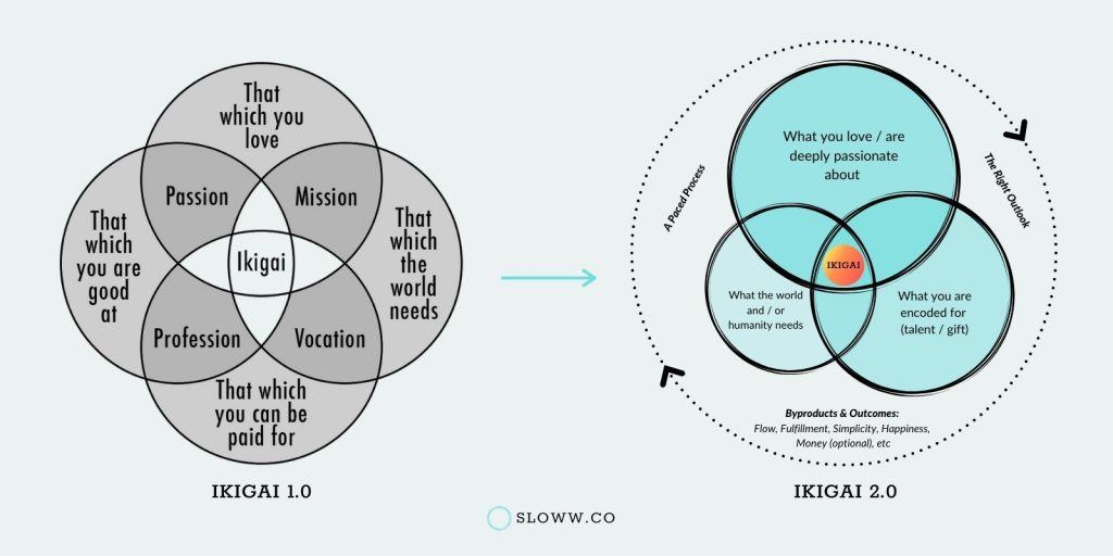 Sloww Ikigai 2.0 Evolution