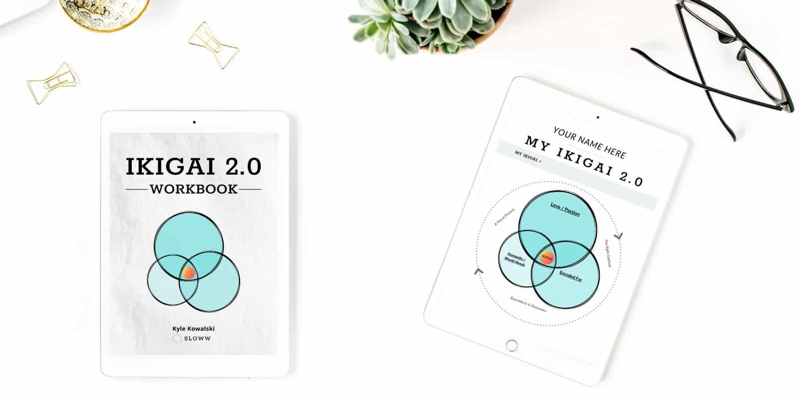 Sloww Ikigai 2.0 eBook Workbook