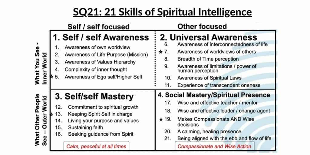 SQ21 21 Skills of Spiritual Intelligence