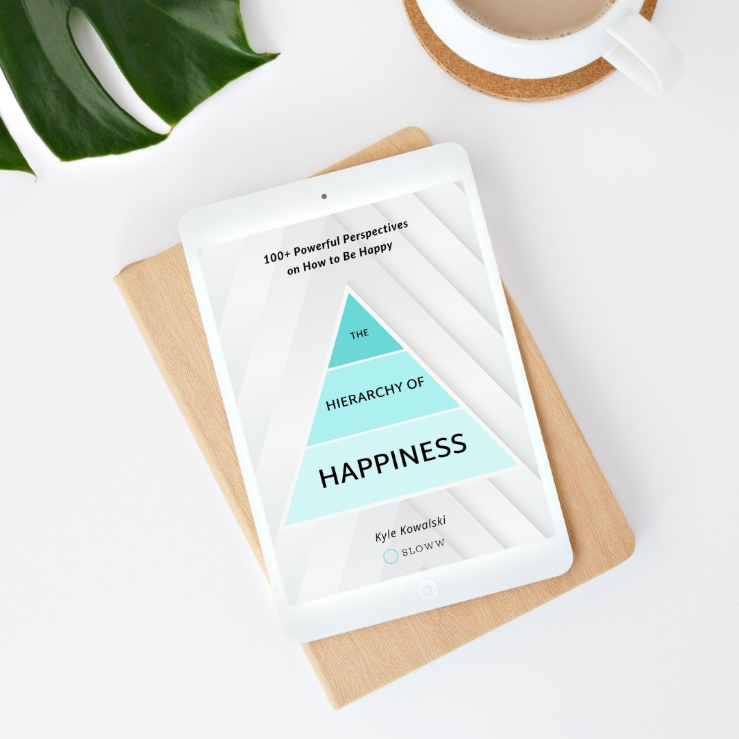 Sloww Hierarchy of Happiness eBook
