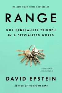 Range Generalists David Epstein Book Cover
