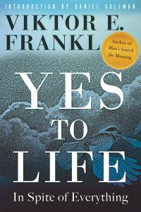 Yes to Life Viktor Frankl Book Cover