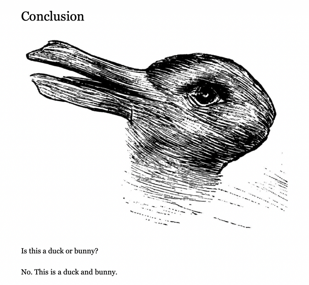 How to Live by Derek Sivers Duck and Bunny
